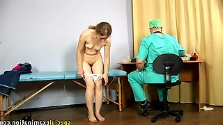 Pervy Doctor Sodomizes With Dildo Amateur Gals Virgin Asshole