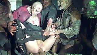 Horror Porn zombie strike origin