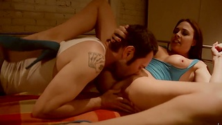 Passionate shafting in the meeting-hall with ass eating - Chanel Preston