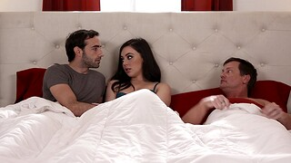 Video of passionate MMF threesome with adorable Whitney Wright
