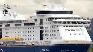 German couple fuck on cruise ship